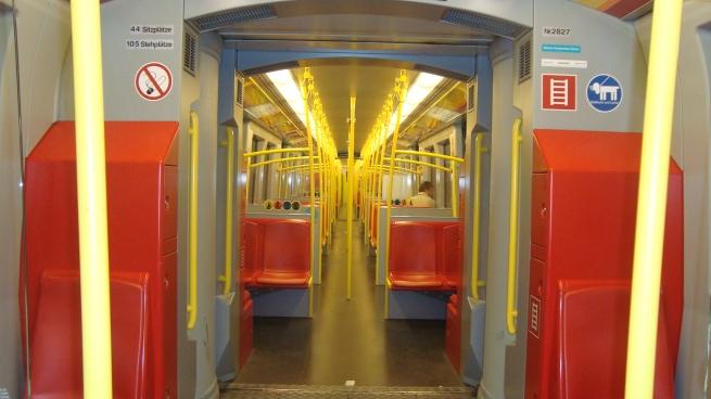Ein Bild aus der U-Bahn in Schieflage 2008 made bei KiTop